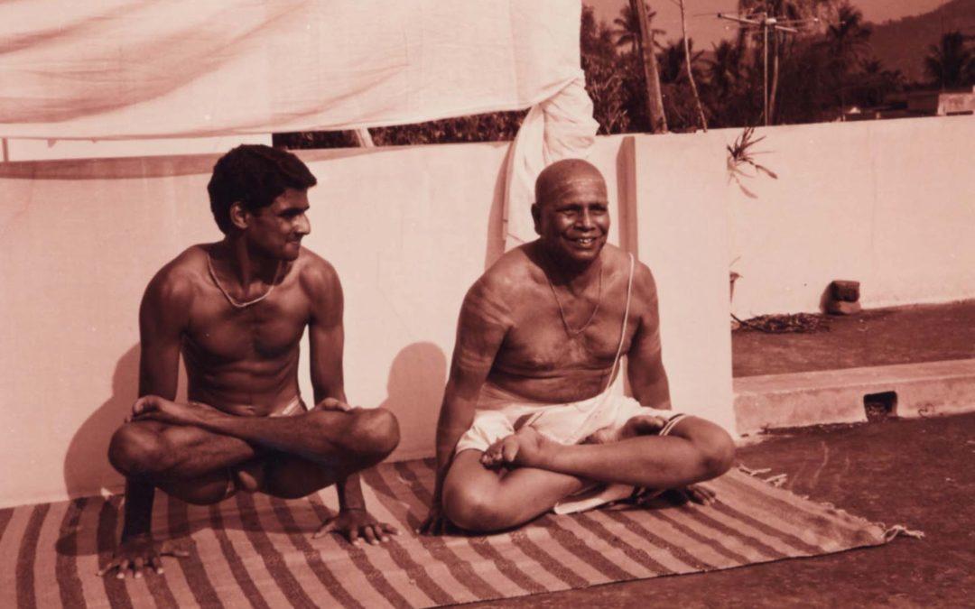 Ashtanga / Primera conferencia con Sharath